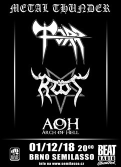 Metal Thunder - Törr + Root + Arch of hell