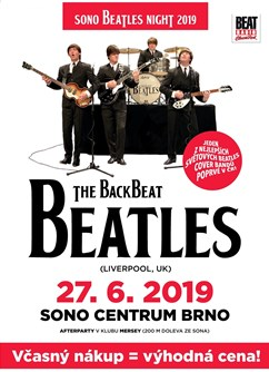 Sono Beatles Night - The Backbeat Beatles (UK)
