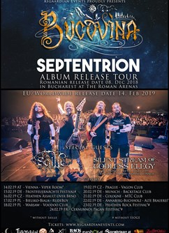 Bucovina Septentrion album release tour - Prague