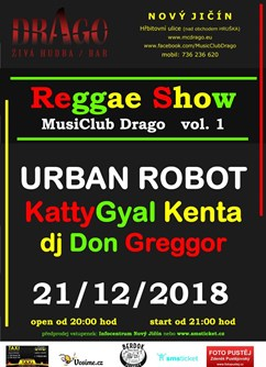 Reggae show vol.1 / Urban Robot, KattyGyal Kenta