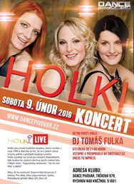 Koncert Holki live 2019 + Retro party