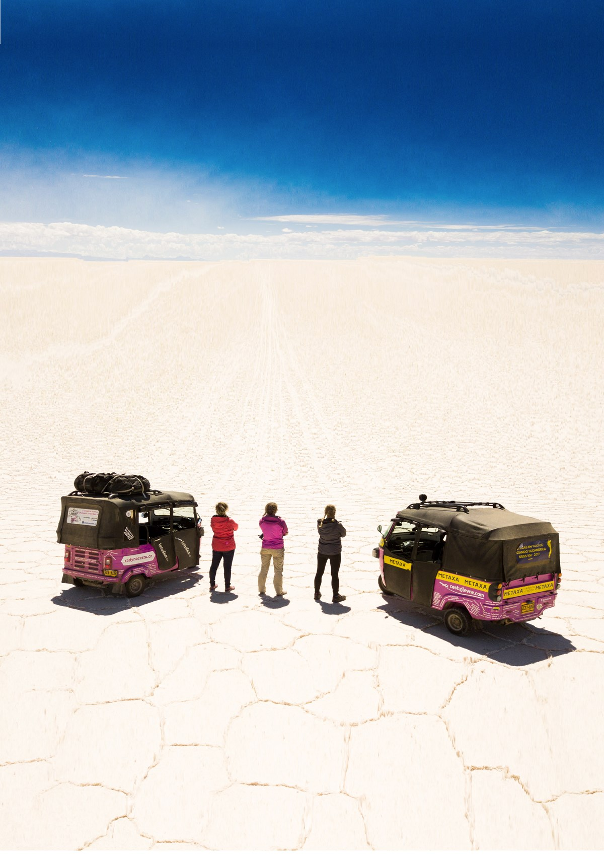 5 holek v tuktuku skrz Jižní Ameriku @PARDUBICE