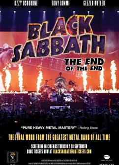 Black Sabbath - The end of the end (V. Británie)  Bio Senior