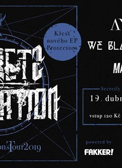 Secretly Separated Core Night - křest EP Protectors