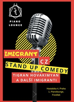 Imigrant Stand Up Comedy CZ
