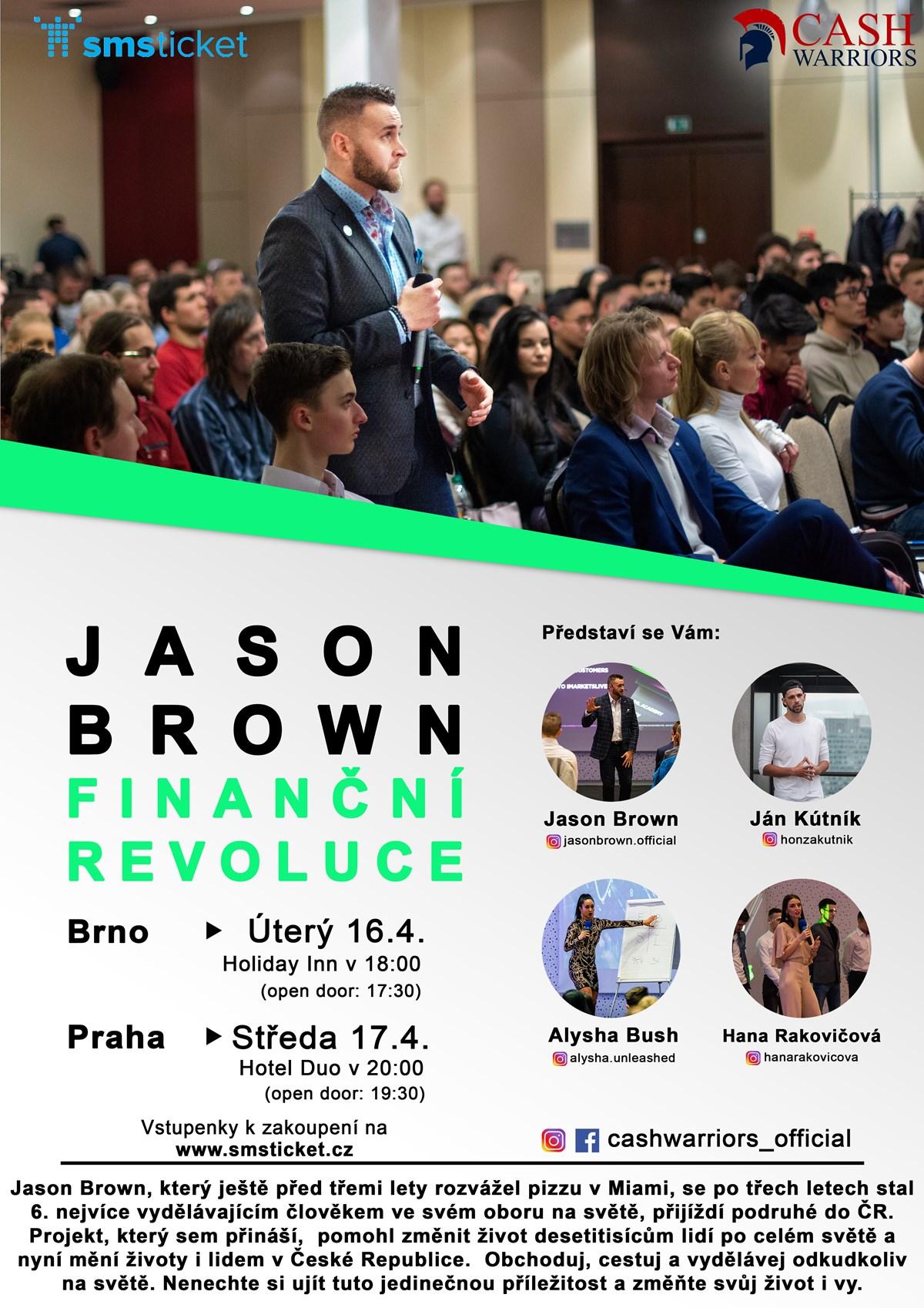 Finanční revoluce Jason Brown