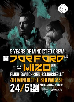 5 Years of Mindicted w/ Joe Ford & Mizo