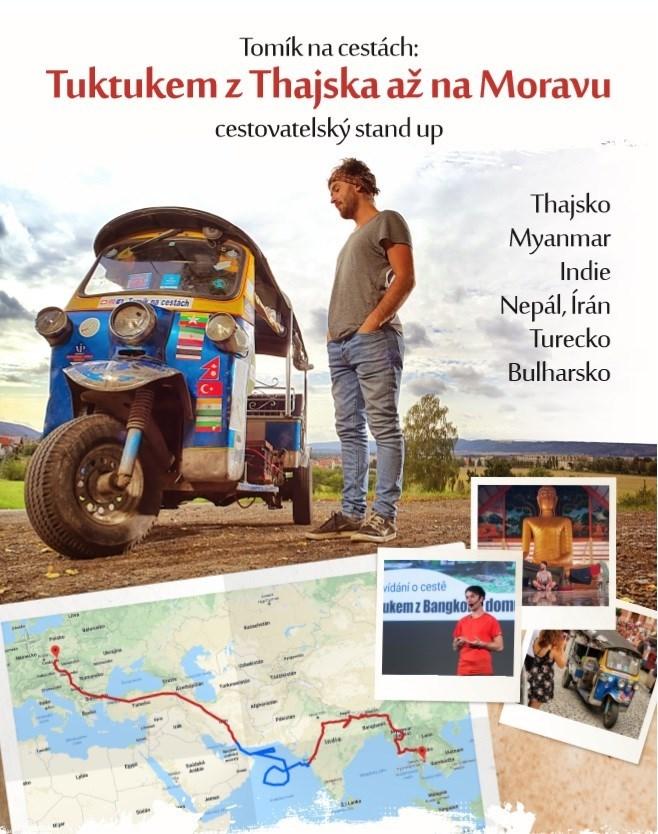Tuktukem z Thajska až na Moravu s Tomíkem / Kutná hora
