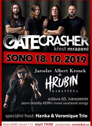GATE Crasher a J.A.Kronek/ Hrubin