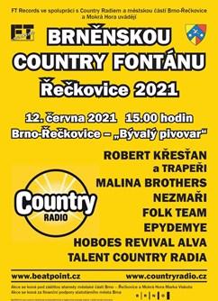 Brněnská Country fontána Řečkovice 2021