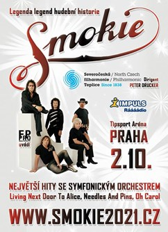 SMOKIE - The Symphony Tour 2021 (Praha)