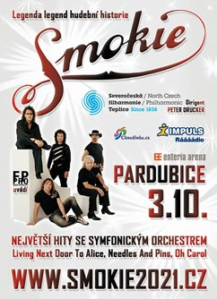 SMOKIE - The Symphony Tour 2021 (Pardubice)