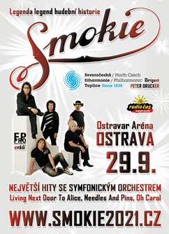 SMOKIE - The Symphony Tour 2021 (Ostrava)