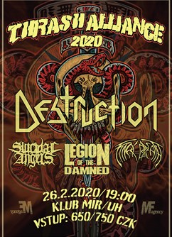 Destruction - Thrash Alliance EU Tour 2020