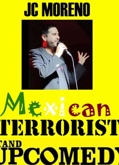 "JC Moreno: ""Mexican terrorist"" - stand up comedy in English"