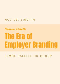 The Era of Employer Branding