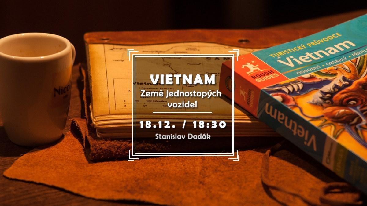 Vietnam - země jednostopých vozidel