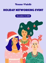 Femme Palette Holiday Networking Event