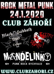 Rock - Metal - Punk Koncert Vol. 1 v Club Záhoří