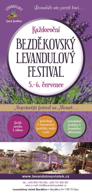 Bezděkovský levandulový festival 2020