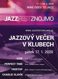 Jazzový večer v klubech: PERFECT TIME