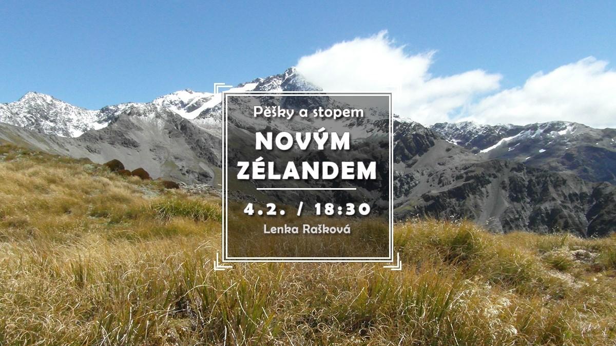 Pěšky a stopem Novým Zélandem