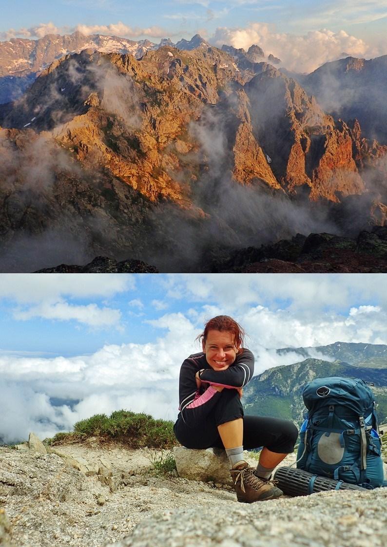 Sólo trek GR20 na Korsice