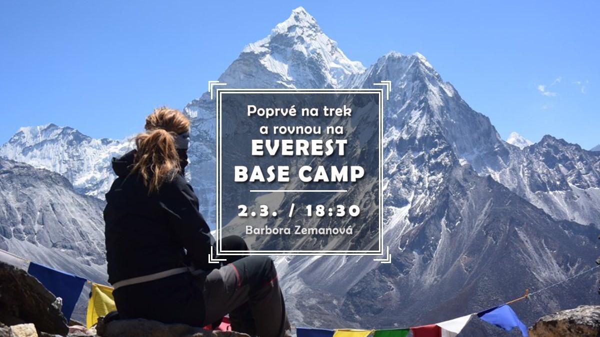 Poprvé na trek a rovnou do Everest base camp