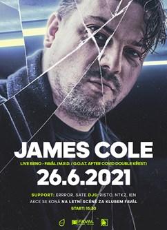 James Cole - double křest alb M.R.D / G.O.A.T - Open Air
