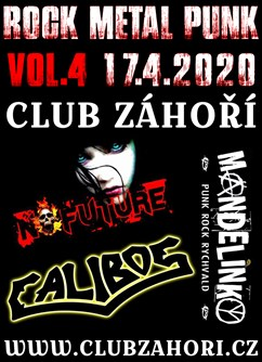 RMP Koncert Vol. 4 // Calibos & Mandeliky & No future
