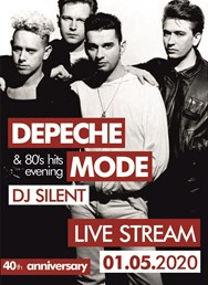 Live stream pro Oliverka: Depeche mode evening & 80's hits