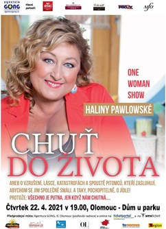 One woman show Haliny Pawlowské - Chuť do života