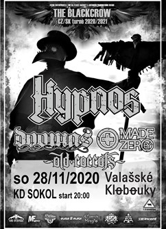Hypnos / The Blackcrow Tour / Valašské Klobouky