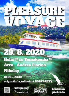 We Love The Boat | Pleasure Voyage | Holic b2b Yomakomba