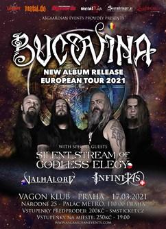 Bucovina album release, SSOGE, Valhalore & Infinitas - Praha
