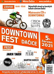DOWNTOWN Fest Dačice 2021