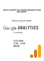 Webinář Google Analytics