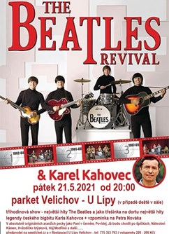 Koncert The Beatles Revival + legendární Karel Kahovec