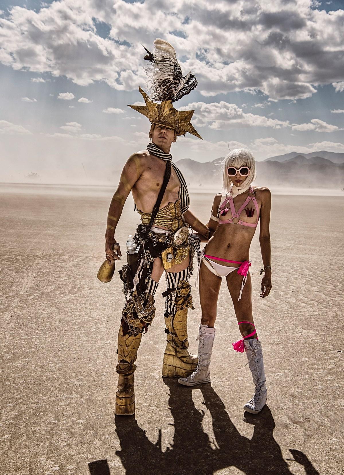 ONLINE: Burning Man uprostřed pouště (Marek Musil)