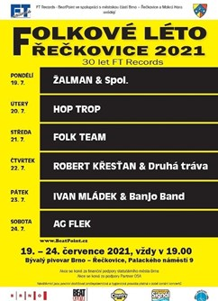 Ivan Mládek & Banjo Band - Folkové léto Řečkovice 2021