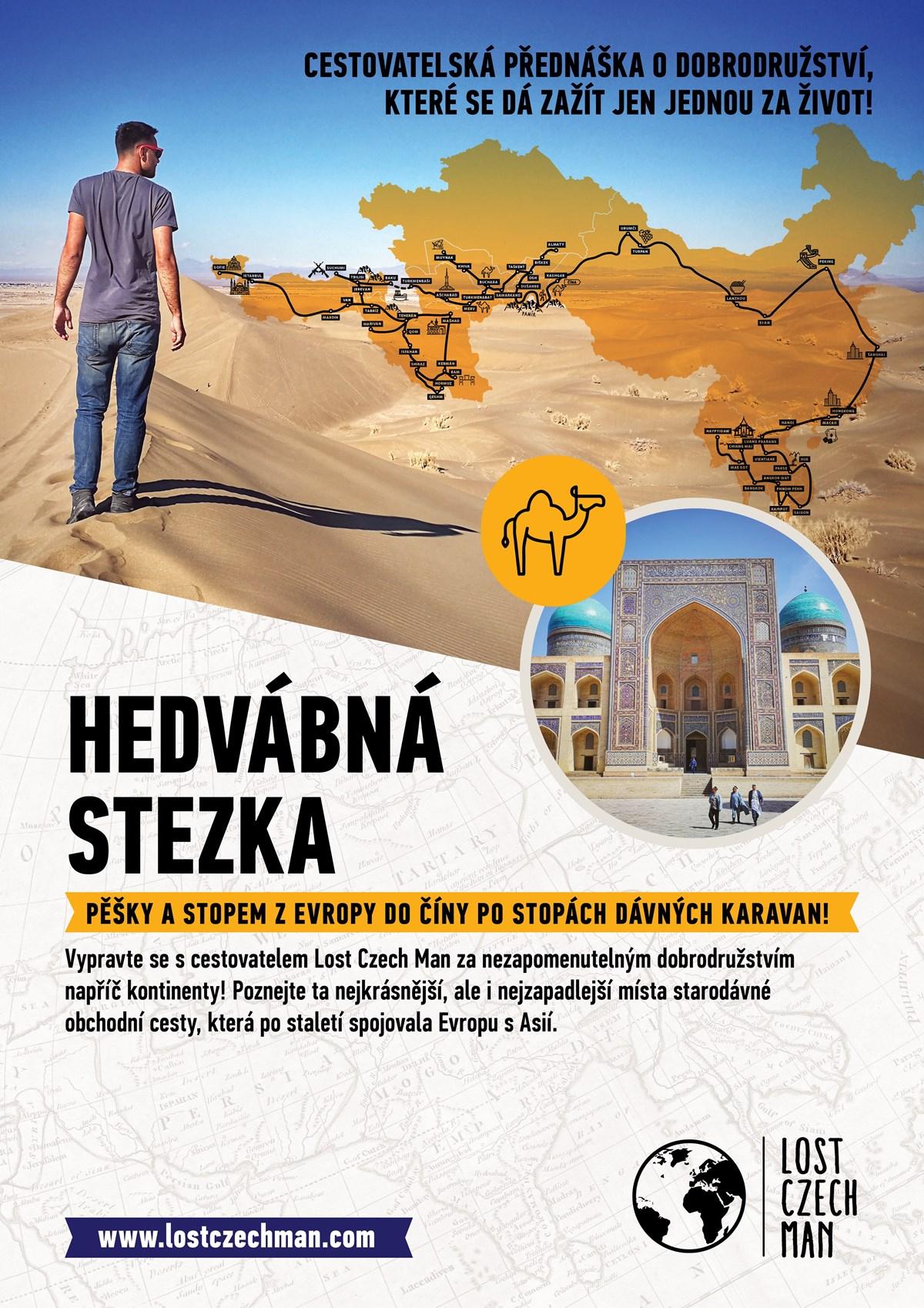 Lost Czech Man • Hedvábná stezka