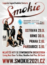 SMOKIE - The Symphony Tour 2021