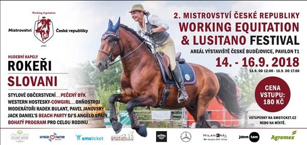 II. Mistrovství ČR Working Equitation & Lusitano festival