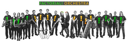 Factorial! Orchestra v Lucii, support Karol Komenda Group