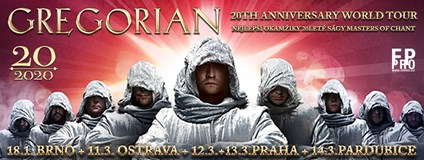 GREGORIAN - 20th Anniversary World Tour (PRAHA - 12.3.2020)