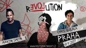 Holy Spirit Night Praha: Revolution Tour s Martinem Smithem
